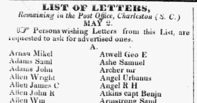 LettersList